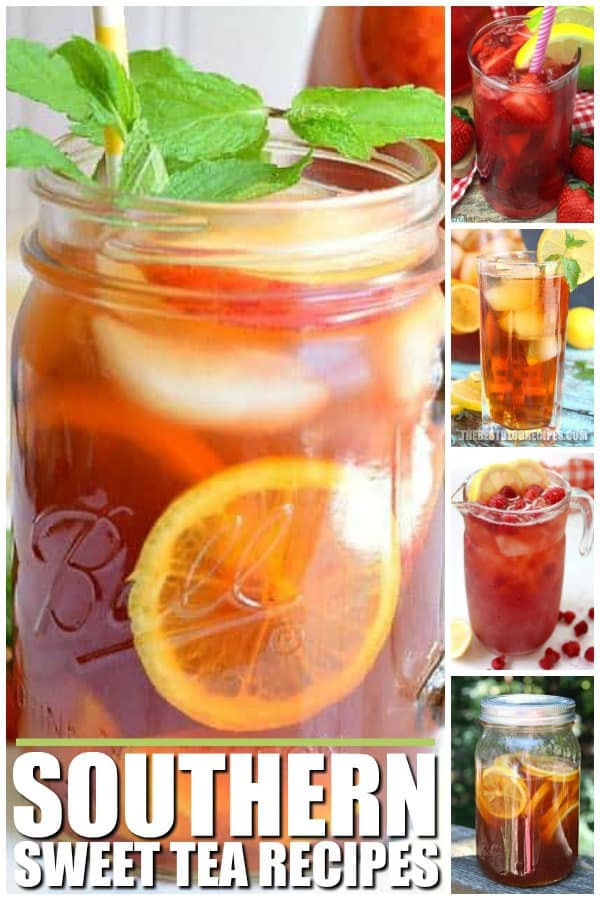 SOUTHERN SWEET TEA RECIPES