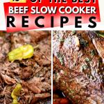 10+ BEST BEEF SLOW COOKER DINNER RECIPES