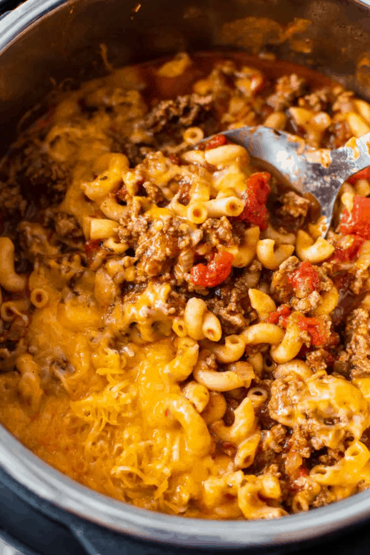 BEST INSTANT POT GOULASH