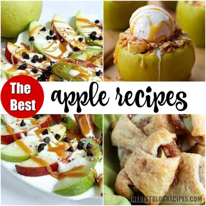 THE BEST APPLE RECIPES