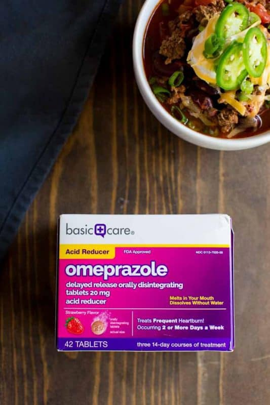 Omeprazole ODT at Amazon