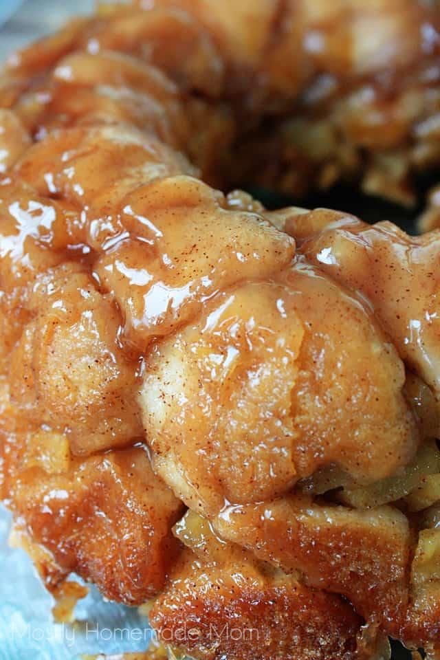 Apple Pie Affe Brot