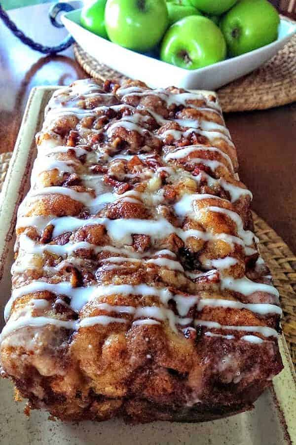 Awesome Country Apple Fritter Bread!