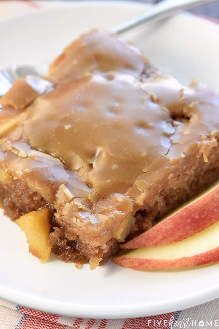 Caramel Apple Sheetcake