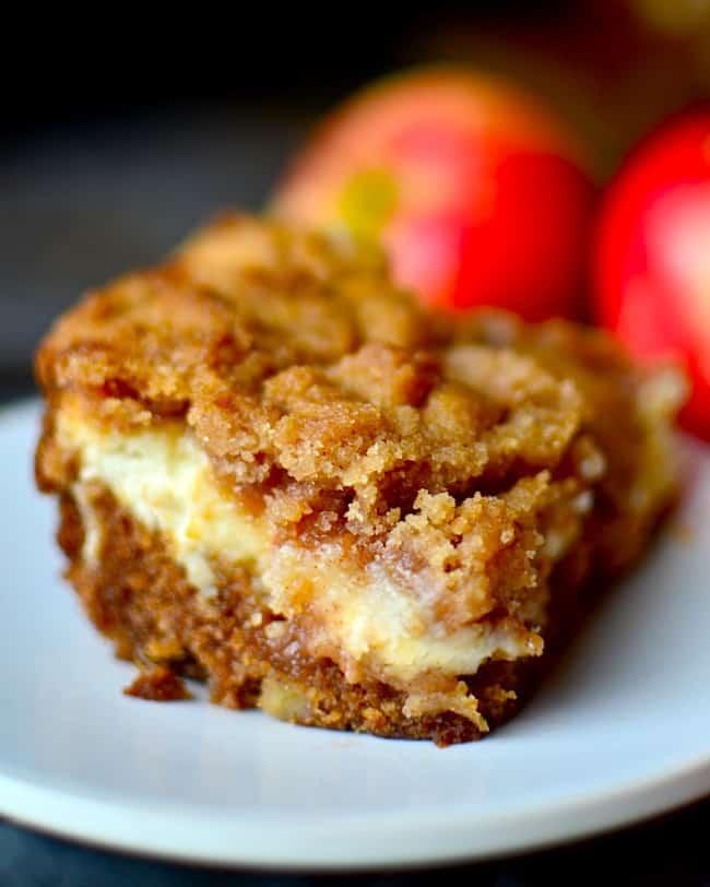 Käse-Sahne-Apfel-Kaffee-Kuchen