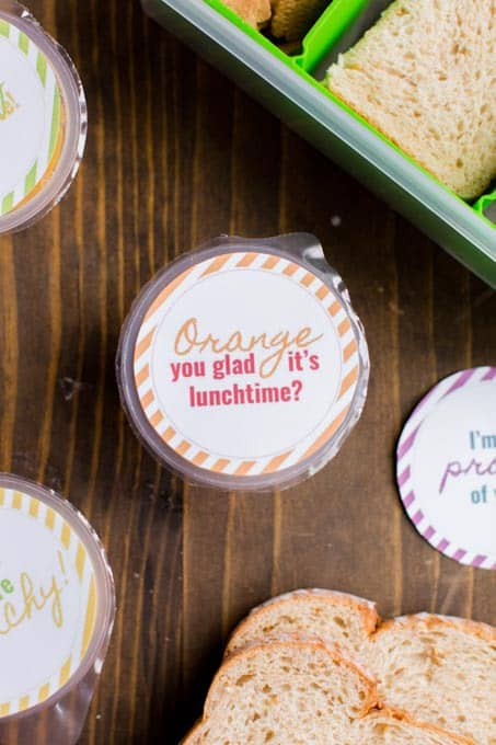 Free Printable Lunchbox Stickers