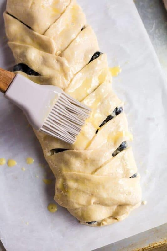 Best Blueberry Breakfast Braid
