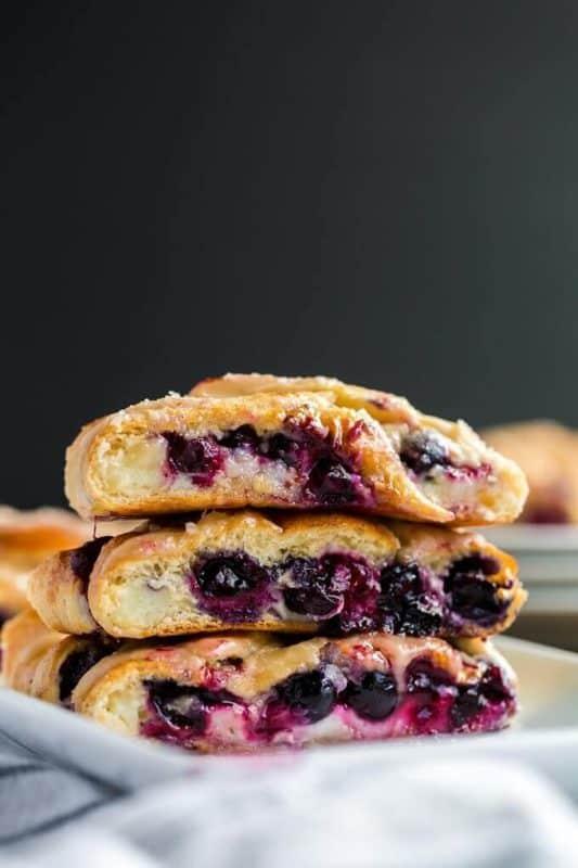 Blueberry Breakfast Braid