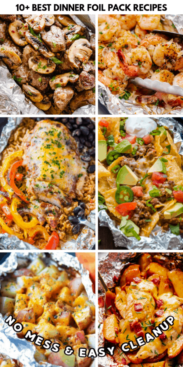 Best Dinner Foil Pack Recipes