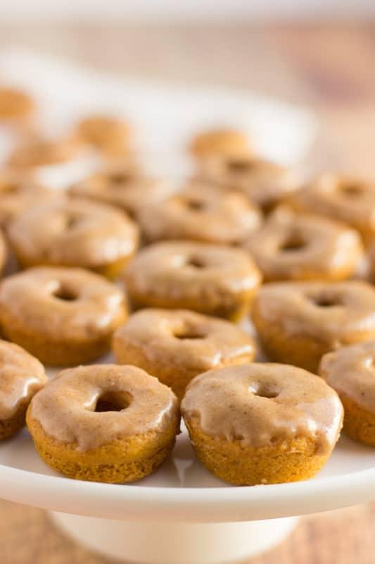 Pumpkin Spice Donuts