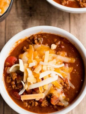 Best Easy Slow Cooker Chili