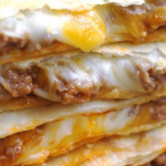 Cheesy Ground Beef Quesadilla Recipe