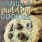 Chocolate Chip Vanilla Pudding Cookie Recipe