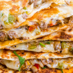 Philly Cheesesteak Quesadilla Recipe