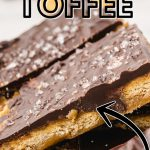 Ritz Cracker Toffee