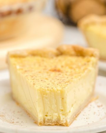 Custard Pie slice