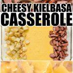 Kielbasa and Potato Bake