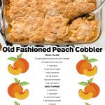 Peach Cobbler Recipe