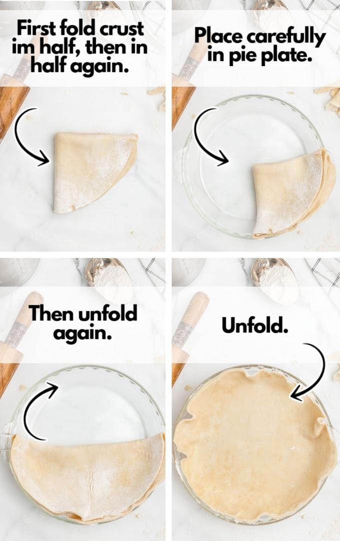 unfold dough