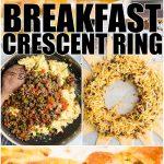 Breakfast Crescent Ring