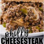 Philly Cheesesteak Sloppy Joes